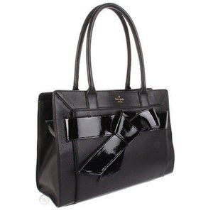 KATE SPADE Bow Valley Helena Leather Handbag Tote